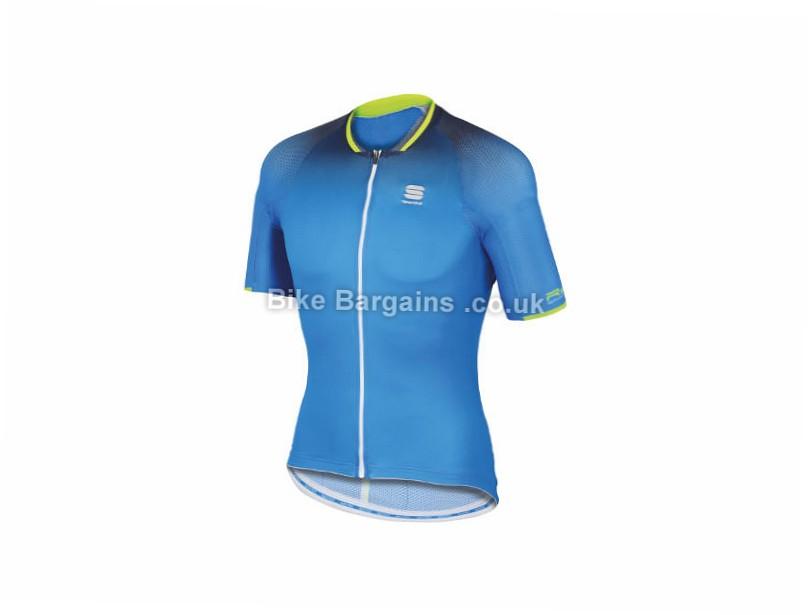 Sportful R and D Speed Skin Jersey XXXL, Blue, Yellow