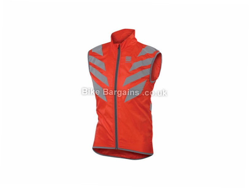Sportful Reflex 2 Gilet S,M,L,XL, Black, Yellow