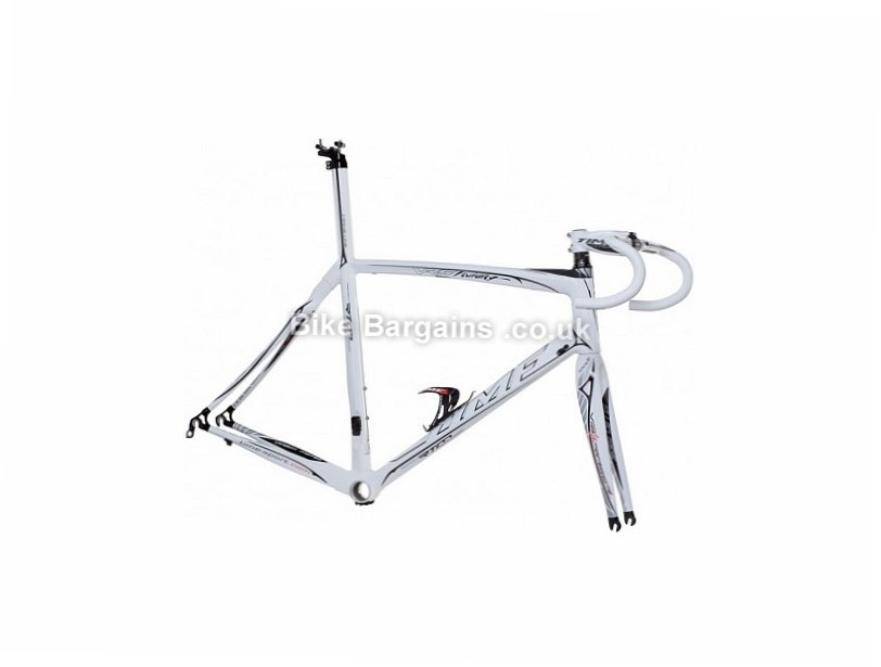 Time VRS Fluidity Electronic Carbon Road Frameset 2014 M, White