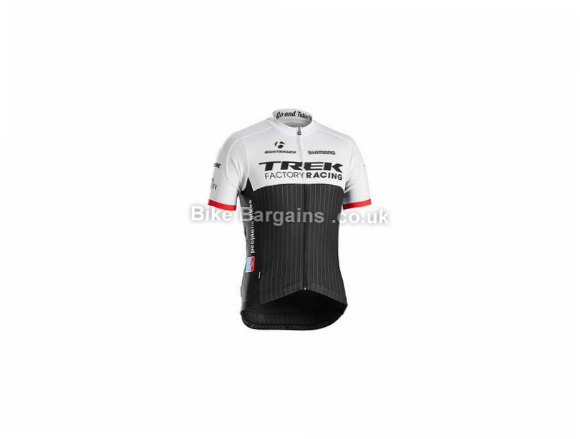 Trek Replica Short Sleeve Jersey XS, White