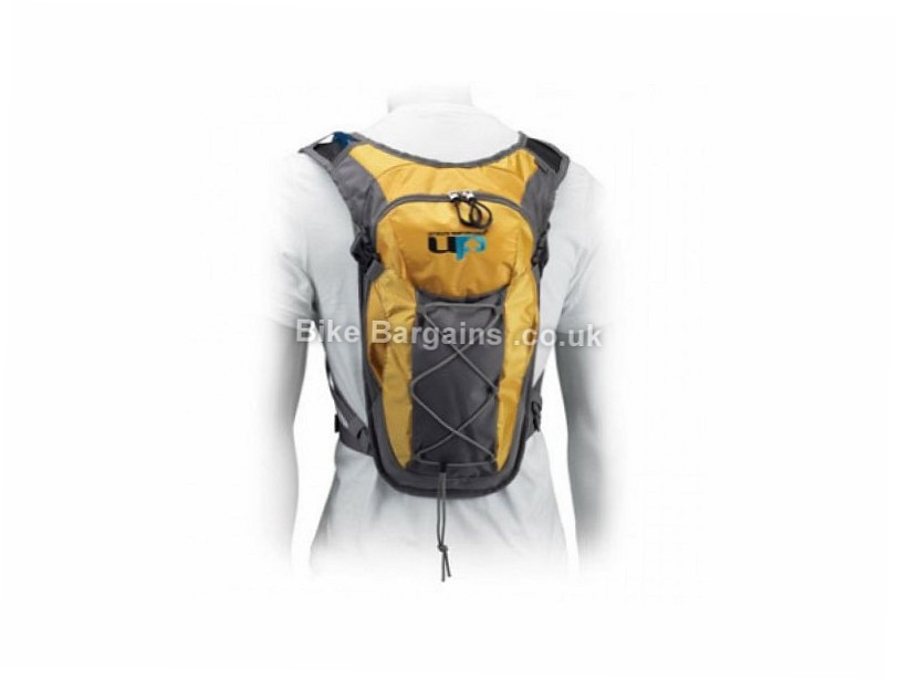Ultimate Performance Windermere 2 Litre Hydration Pack Yellow, 2 Litres