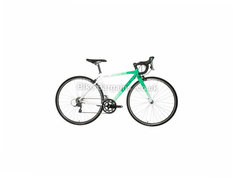 Verenti Technique Ladies Claris Alloy Road Bike 2017 44cm, 50cm, White, Green