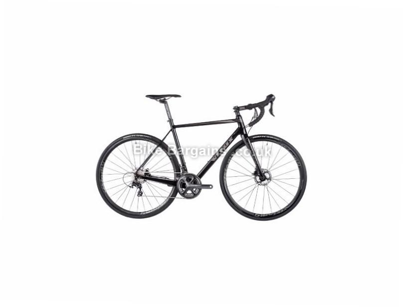 Vitus Venon VR Disc Ultegra Carbon Road Bike 2017 50cm, 52cm, 56cm, Black, Grey