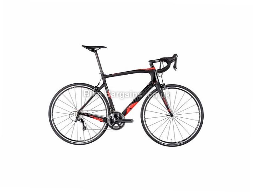 Wilier GTR SL Endurance Shimano Ultegra Carbon Road Bike 2017 700c, M, XXL, Black, Red, 22 Speed, Carbon