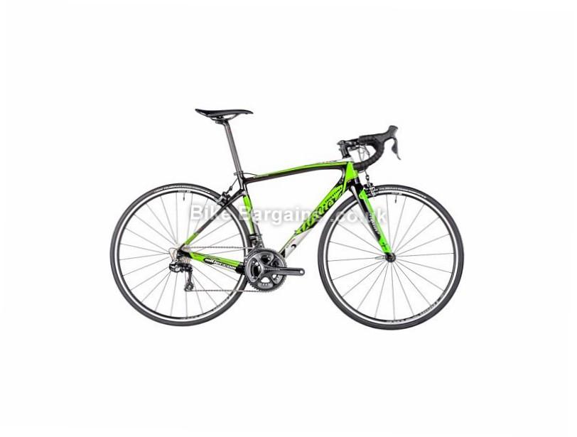 Wilier GTR SL Endurance Ultegra Di2 Carbon Road Bike 2016 700c, XL,Green, Black, 22 Speed, Carbon