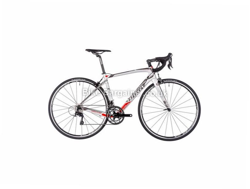 Wilier GTR Team Endurance Shimano 105 Carbon Road Bike 2017 700c, L, White, Grey, 22 Speed, Carbon