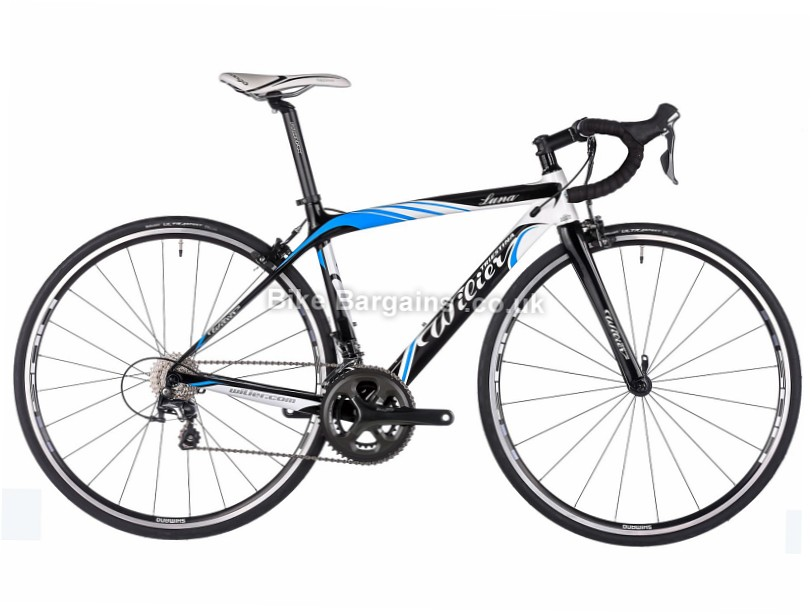 Wilier Luna Ladies Shimano Tiagra Carbon Road Bike 2016 700c, XS, Black, Blue, White, 20 Speed, Carbon