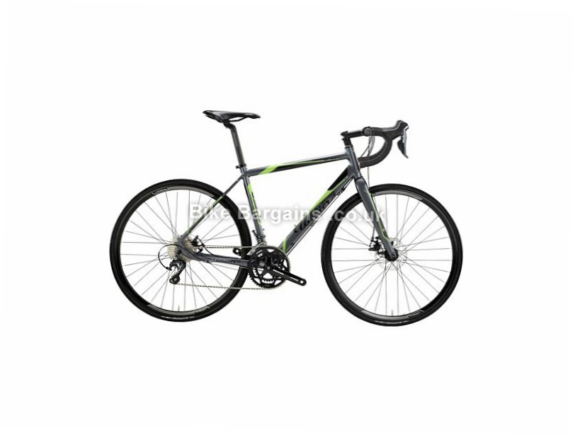 Wilier Montegrappa Tiagra Disc Alloy Road Bike 2016 700c, M, Grey, Green, 20 Speed, Alloy
