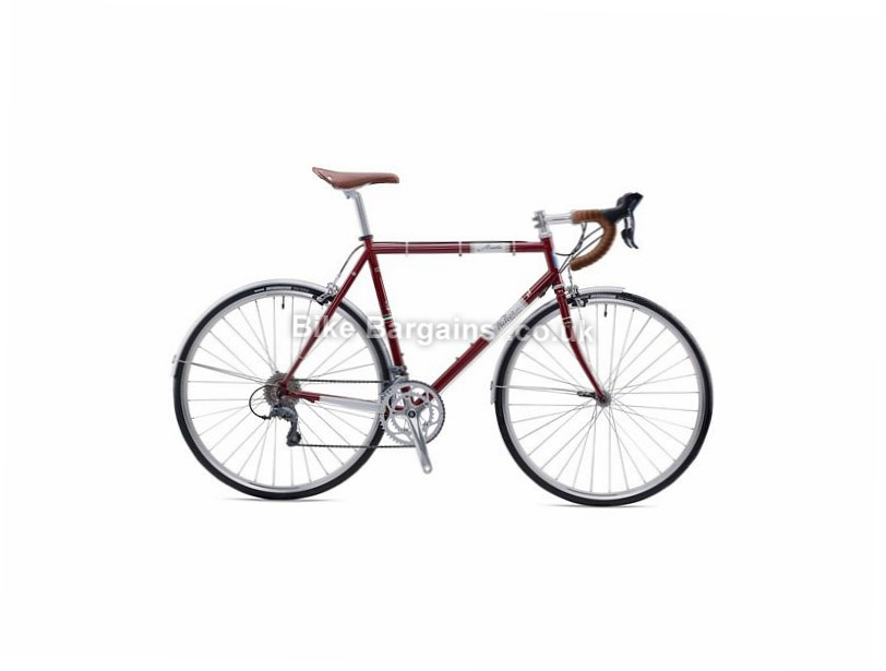 Wilier Strada Claris Steel Road Bike 2016 700c, L, Red, 16 Speed, Steel