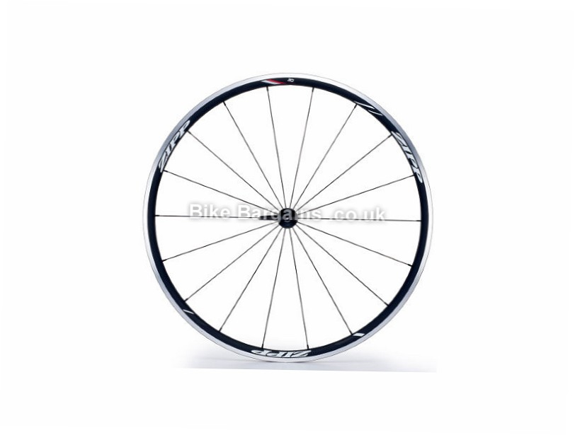 Zipp 30 Course Alloy Tubular Front Road Wheel Black, 700c