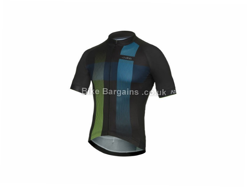 dhb ASV Race Short Sleeve Jersey XS,S,M,L,XXL, Black, Blue, Red