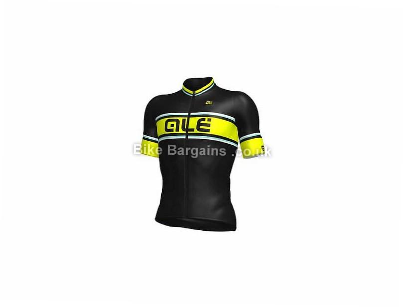 Ale PRR 2.0 Speedfondo Short Sleeve Jersey M,XXL, Black, Yellow, Red
