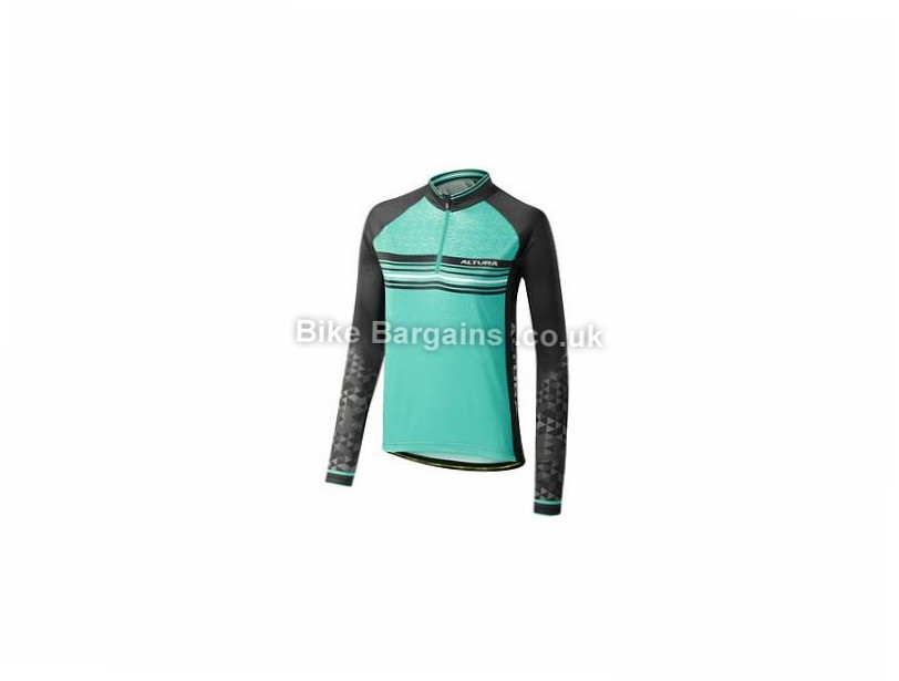 Altura Ladies Peloton Team Long Sleeve Jersey 8,10,12,14 - 16 is extra - Blue, Black