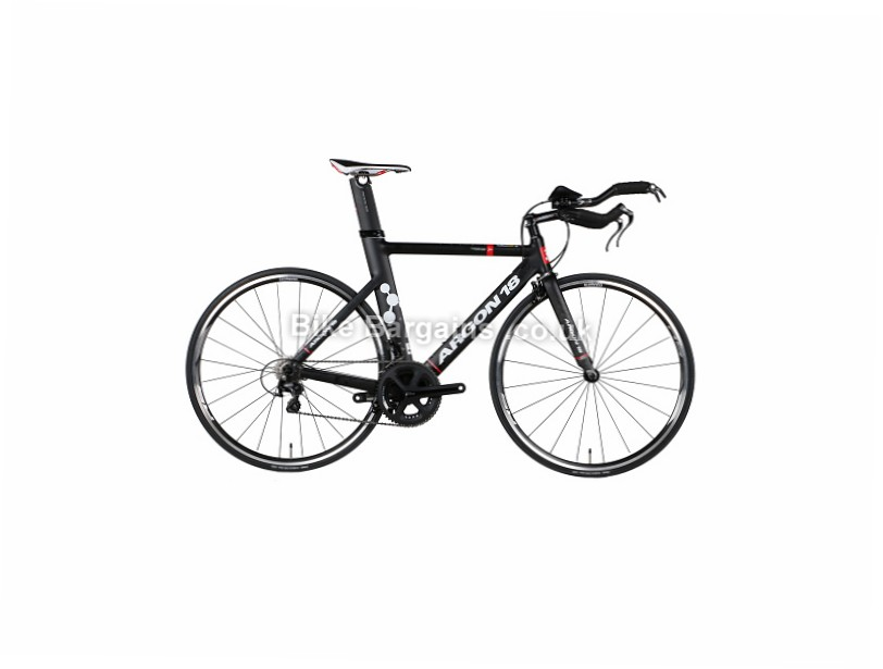 Argon 18 E-80 Time Trial Triathlon Custom Alloy Road Bike XS,S,M,L, Black