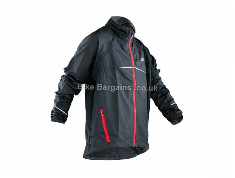 Bellwether Convertible Water Resistant Jacket S, Black