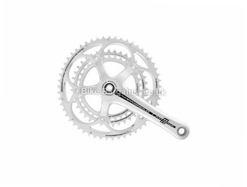 Campagnolo Athena PT 11 Speed Triple Road Chainset Silver, 170mm, 172.5mm, 175mm