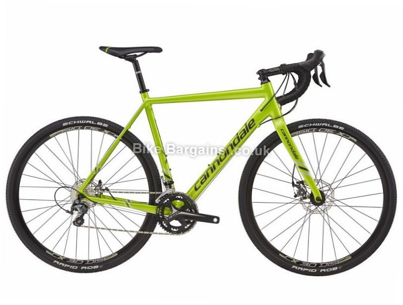 Cannondale CAADX Tiagra Alloy Cyclocross Bike 2017 56cm, 58cm, Green