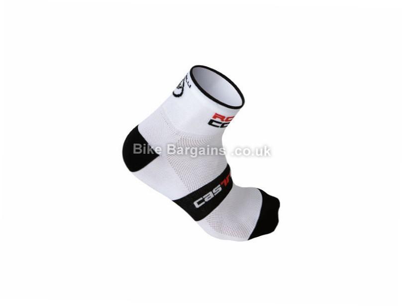 Castelli Rosso Corsa 6 Cycling Socks S, M, XXL, Black, Grey