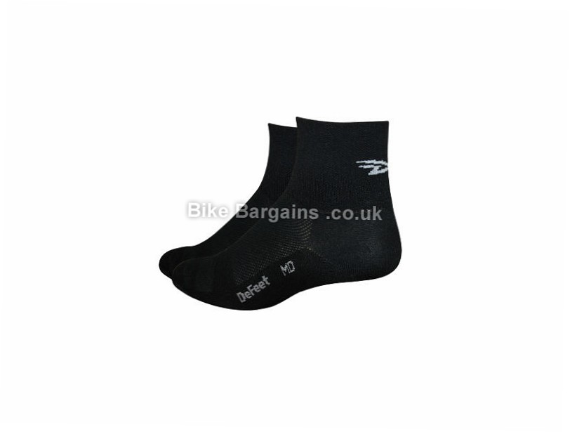 DeFeet Aireator D-Logo Cycling Socks L, Pink
