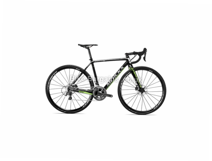 Eddy Merckx Eeklo 70 Shimano Ultegra Disc Carbon Cyclocross Bike 2016 Green, Black, 48cm