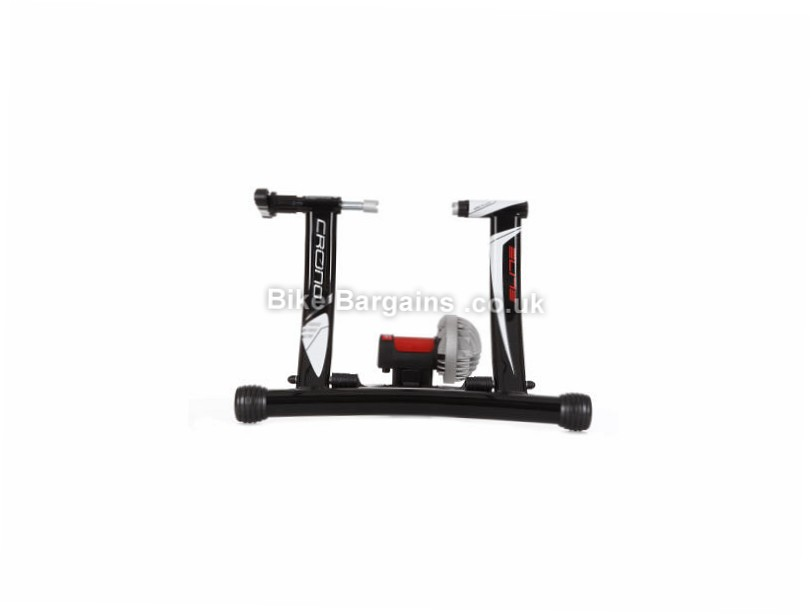 Elite Crono Fluid ElastoGel Turbo Trainer Black,Red,Silver