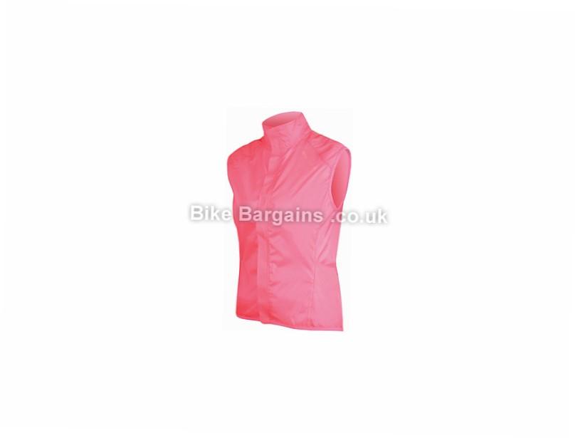 Endura Ladies Pakagilet Gilet L,XL, Pink, Black