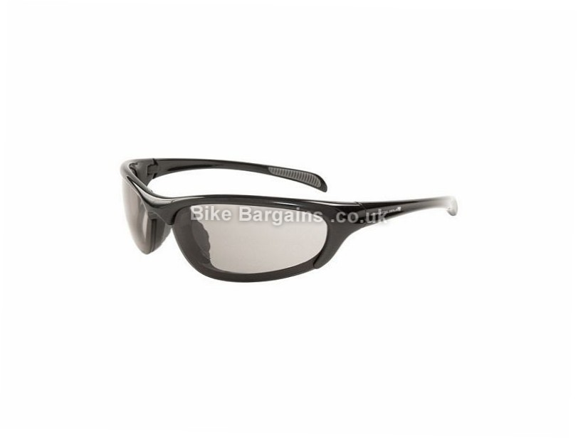 Endura Trigger Bike Glasses Silver, includes case