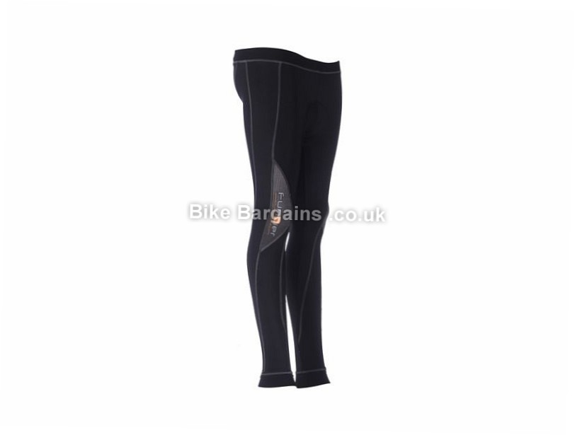 Funkier Ladies 7/8 Winter Tights XS, M, L, XL, Black