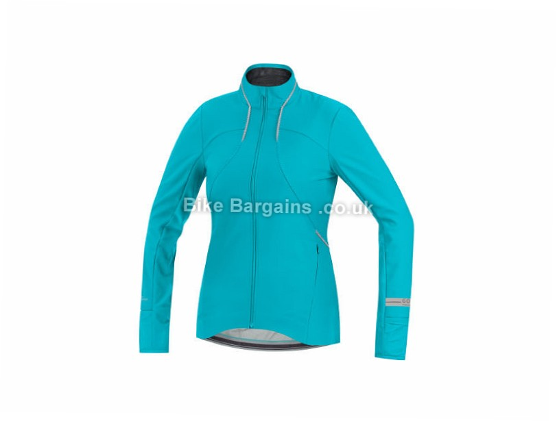 Gore Running Wear Air Lady Windstopper Softshell Jacket 34, 36, 38, 40, Blue
