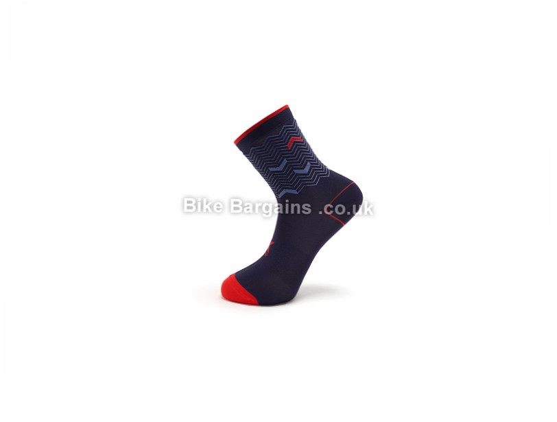 Kalf Prudential RideLondon Cycling Socks XXL, Blue