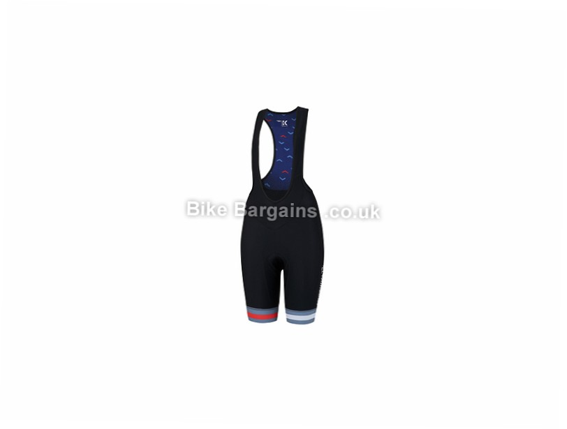 Kalf Prudential RideLondon Ladies Bib Shorts S, Black