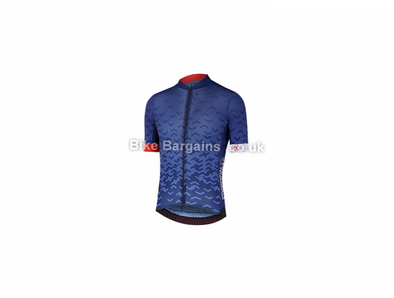 Kalf Prudential RideLondon Short Sleeve Jersey M, Blue