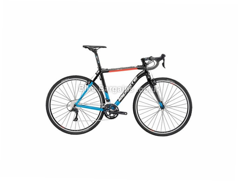 Lapierre CX Alu 200 FDJ Alloy Cyclocross Bike 2017 50cm, Black, Red, Blue, 700c, 11 Speed, Alloy