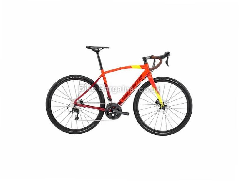 Lapierre Crosshill 500 Disc Alloy Gravel Bike 2017 55cm, Orange, Yellow, Red, 700c, 11 Speed, Alloy