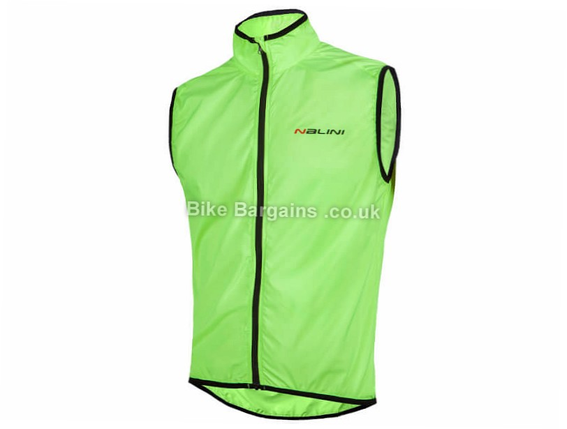 Nalini Arietta Windproof Gilet S,M,L, White, Yellow