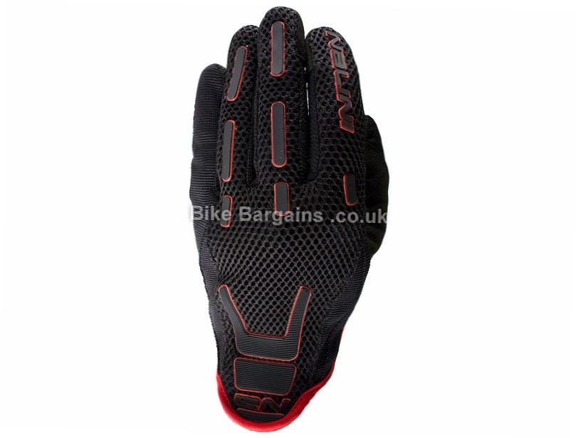 Nalini Flux Full Finger Gloves S, Black