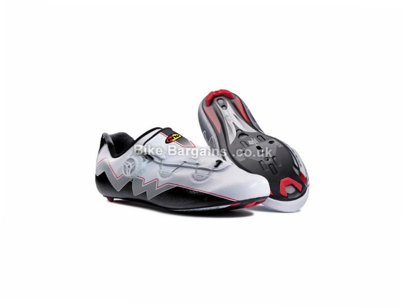 Northwave Extreme Aero Road Shoes 42, 43, 44, 45, Black, White