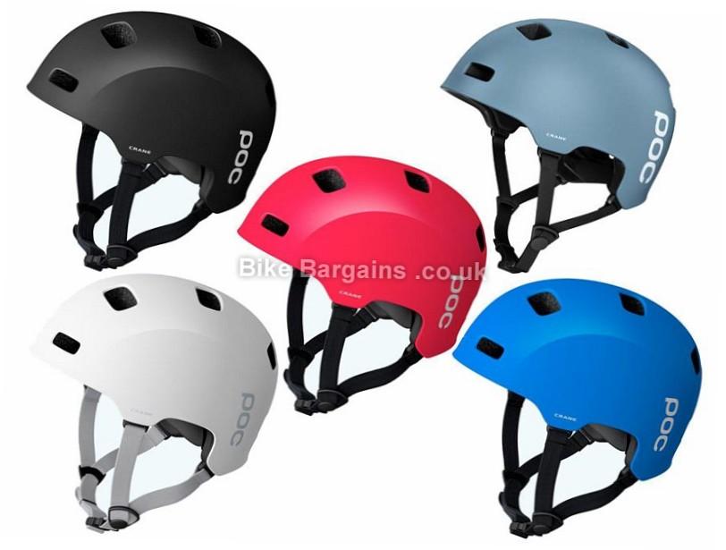 Poc Crane Dirt Trail MTB Helmet Blue, M, L