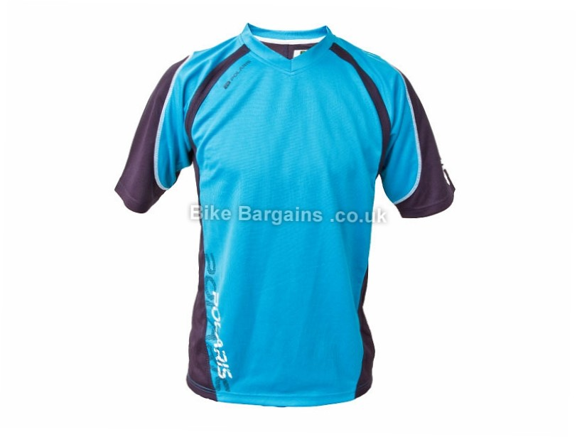 Polaris AM Nomad MTB Short Sleeve Jersey M, Blue