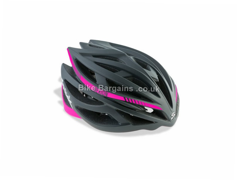 Spiuk Nexion Road Helmet S, Black, Pink, 225g