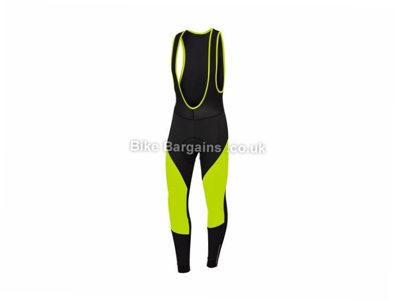 Sportful Fiandre NoRain Bib Tights XXXL, Black, Yellow