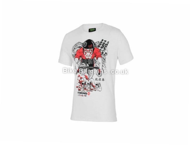 Stolen Goat Keirin Racer Casual T-Shirt XXL, Pink, Red