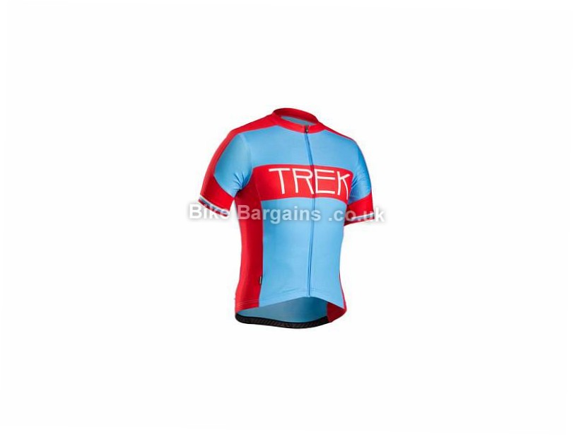 Trek RL Short Sleeve Jersey XS, Blue, Red