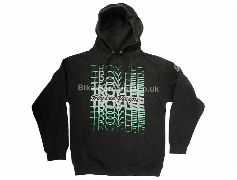 Troy Lee Designs Fade Casual Hoody L, Black