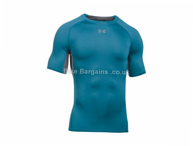 Under Armour Heatgear Short Sleeve Base Layer L,XL, - some cost slightly extra - Grey, Black