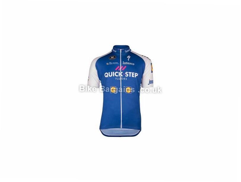 Vermarc Team Short Sleeve Jersey 2017 L, White, Blue