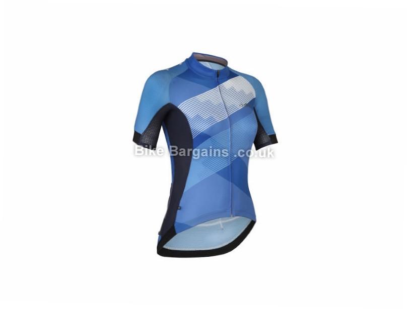 dhb ASV Race Ladies Short Sleeve Jersey 10, Blue