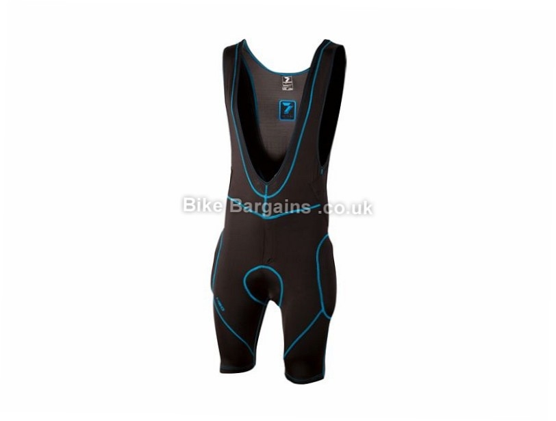 7 iDP Hydro Bib Shorts XL, - S,M, are extra, Black