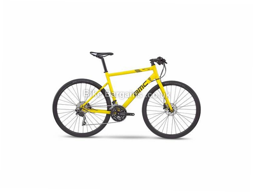 BMC Alpenchallenge AC02 Deore Alloy Hybrid City Bike 2017 L, Yellow, Alloy