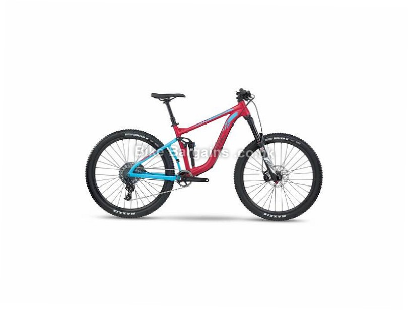BMC Speedfox SF03 Trailcrew NX Full Suspension Mountain Bike 2017 S, Red, Blue